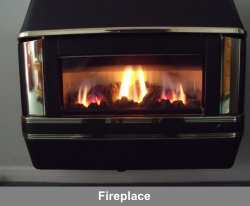 uses for coated metal include fireplaces
