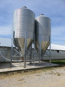 Longer lasting grain bins made from corrosion-resistant ZAM®.