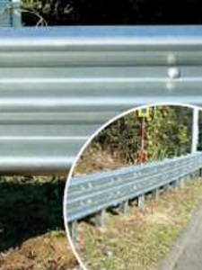 ZAM® is superior to galvanized sheet metal for guardrail use