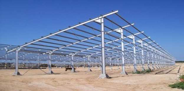 solar racking is an excellent application for ZAM®